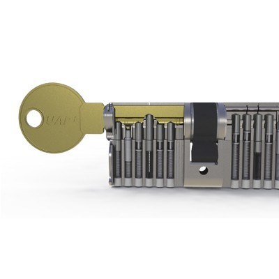 how to break a euro cylinder lock